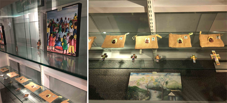 Via Iona College's Brother Kenneth Chapman Art Gallery, the Mission Frère- Haiti program raised more than 0.00 to benefit housing, medical and education programs run by the Sisters of Jesus and Mary in Jean-Rabel Haiti.