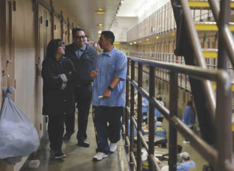 Palma staff members Tracy Jones (left) and Raul
