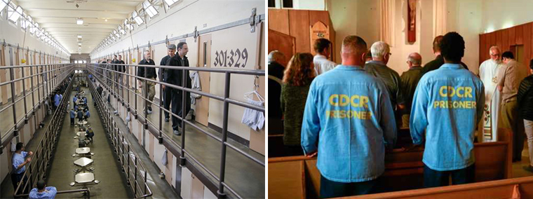 LEFT: Palma's Campus Ministry Department has worked extensively