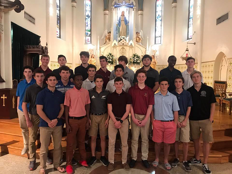 Students from the four