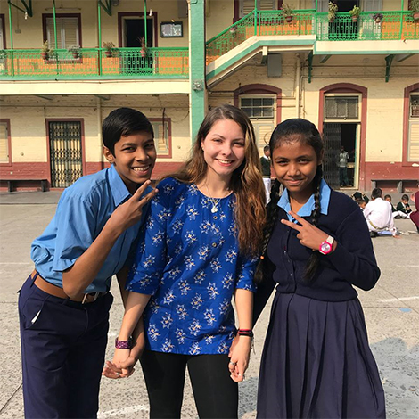Photos from Iona College's Winter immersion to Kolkata, India.