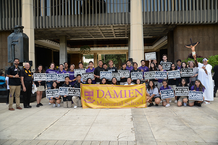 Damien students