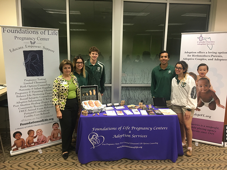 Tampa Catholic students